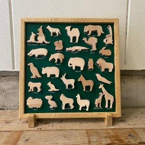 木のZOOマグネットボード