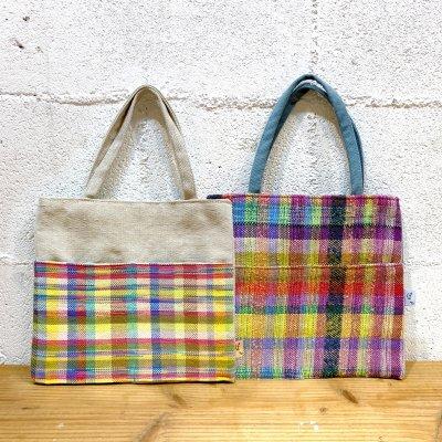 手織りミニトートバッグ