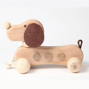 イヌの引き車