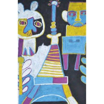 ポストカード<br>「真夜中のエッフェル塔」
