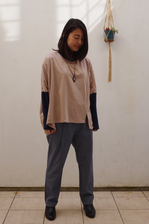 <img class='new_mark_img1' src='https://img.shop-pro.jp/img/new/icons10.gif' style='border:none;display:inline;margin:0px;padding:0px;width:auto;' />URBAN Long sleeve shirts (Beige)