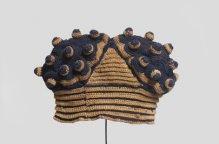 バミレケ族 イボイボでシマシマの帽子