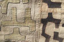 クバ族 組み合わせの布