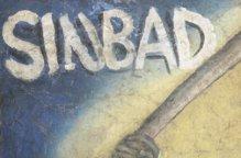 ガーナ映画 ハンドペイントポスター「SINBAD」