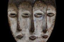 レガ族 3面のマスク