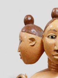 エウェ族 3頭のマミワタさま