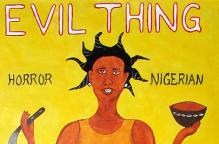 ノリウッド映画「EVIL THING」手描きポスター