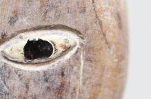 [特別価格] エウェ族 ギョロリとした目の木像