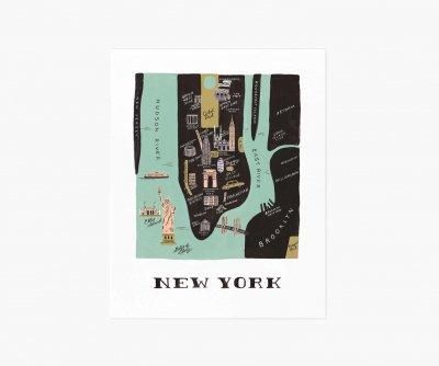 ニューヨークマップ・M