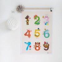 NUMBER / ナンバー・ポスター