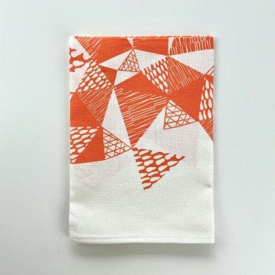 【SALE!!50%OFF】TRIANGLE /トライアングル・キッチンクロス(オレンジ)