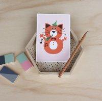 8 ねこ /NUMBER BIRTHDAY CARDS