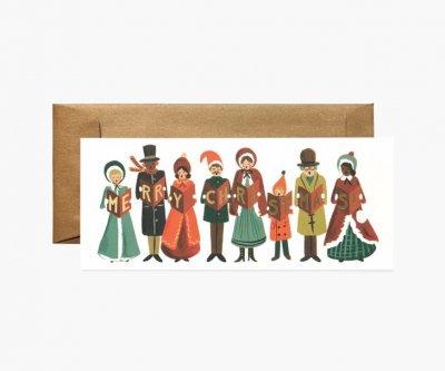 クリスマスキャロル・ランドスケープカード
