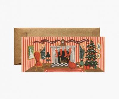 クリスマスルーム・ランドスケープカード