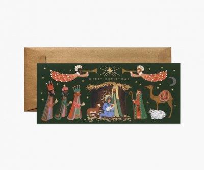 クリスマスファミリア・ランドスケープカード