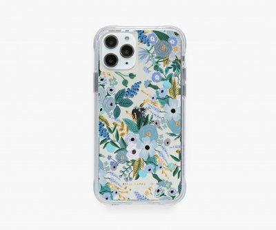 クリアブルーガーデン・iPhone11Pro/X/XS 兼用ケース