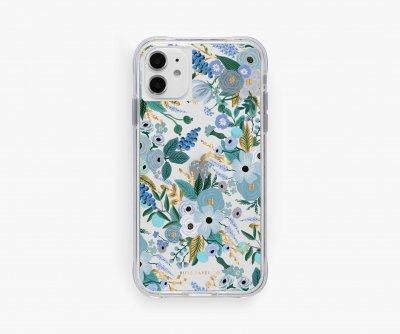 クリアブルーガーデン・iPhone11/XR 兼用ケース