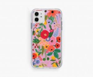 クリアピンクガーデン・iPhone11/XR 兼用ケース