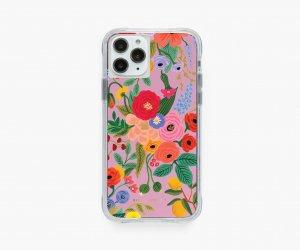 クリアピンクガーデン・iPhone11Pro/X/XS 兼用ケース