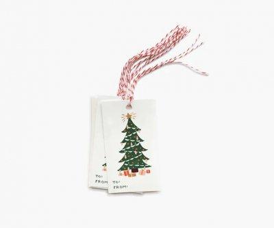 クリスマスツリー・ギフトタグ