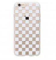 残りわずか【SALE 50%FF!!】クリアチェッカー/iPhone6/6Sケース