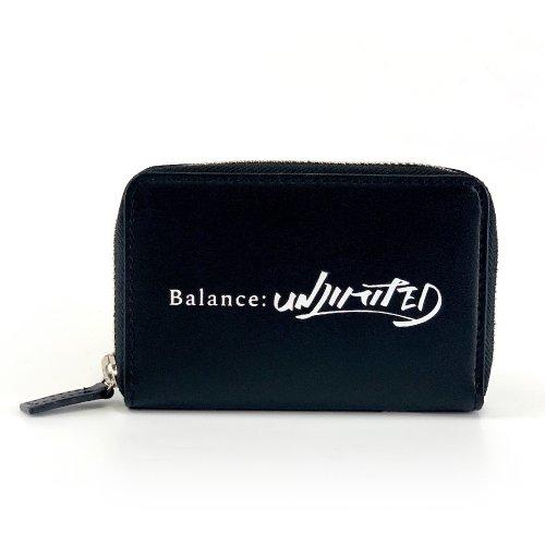 「富豪刑事 Balance:UNLIMITED」Balance:UNLIMITEDミニウォレット  クレジットカード風ギャランティカード付。(牛革)