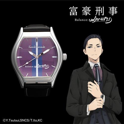 【富豪刑事 Balance:UNLIMITED】腕時計 神戸大助モデル(クレジットカード風ギャランティカード付)