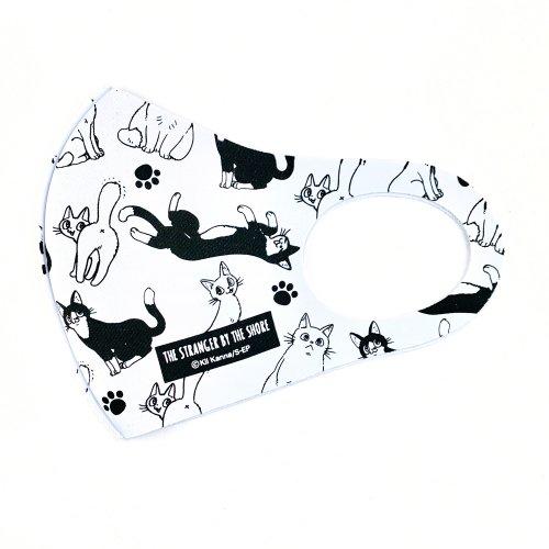 映画『海辺のエトランゼ』ファッションマスク ホワイトver.