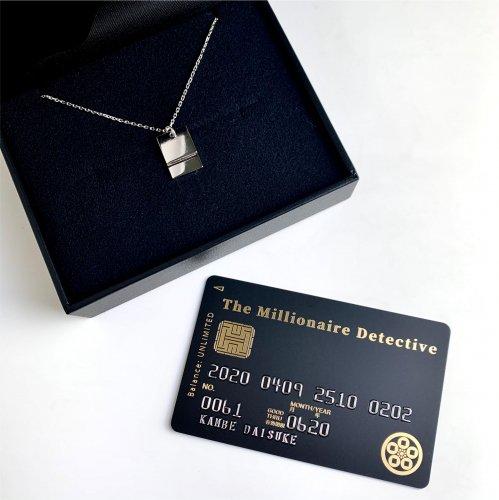 受注生産商品:ご注文から1ヶ月半後『富豪刑事 Balance:UNLIMITED』神戸大助 カフスボタンネックレス 特典カード付 Pt900)