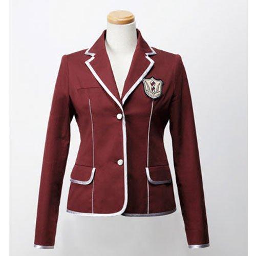 天王洲第一高校 スクールジャケット RED(レディース)