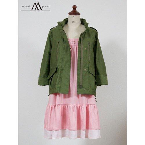 森美咲オリジナルカスタム M65ジャケット