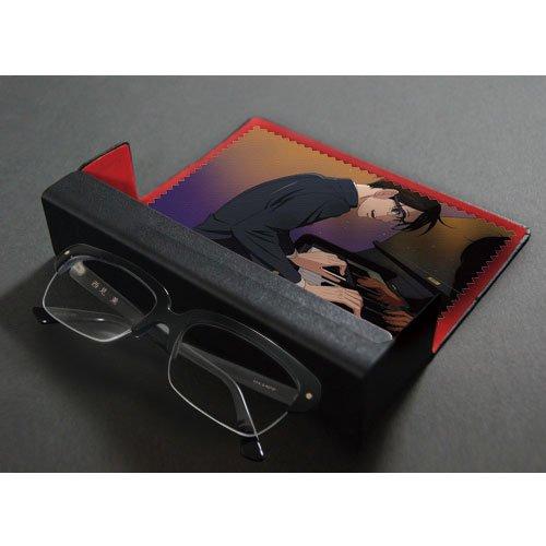 西見薫モデル「黒ブチ眼鏡」(眼鏡ケース・メガネふきセット)