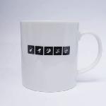 「ノイタミナロゴフォント」マグカップ