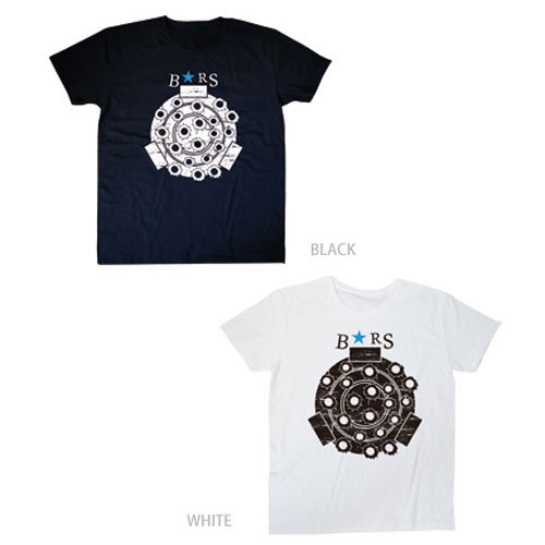 B★RS ブラックロックキャノンTシャツ WHITE & BLACK 2枚セット