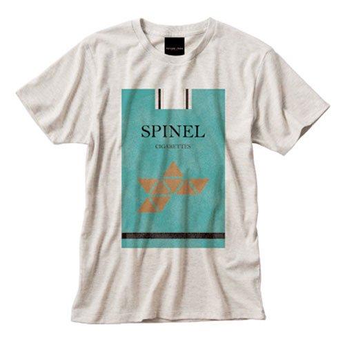 SPINEL柄 ビンテージ風Tシャツ  特典付