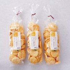 【お買得】えんのおせんべい バターほたて 80g袋×【3個セット】