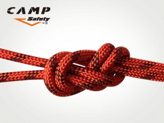 CAMP  セミスタティックロープ 11mm Red(60m)