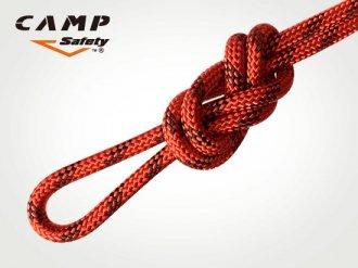 CAMP  セミスタティックロープ 10.5mm Red(100m)