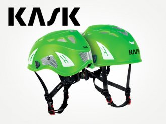 KASK スーパープラズマ PL ハイヴィス(グリーン)
