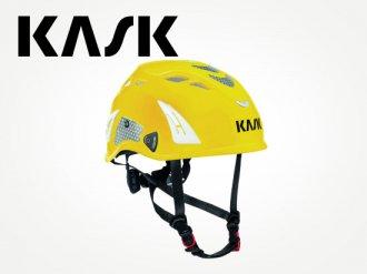 KASK スーパープラズマ PL ハイヴィス(イエロー)