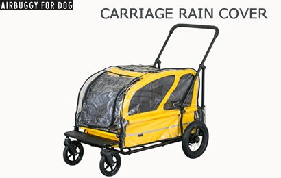 Air Buggy CARRIAGE レインカバー/CARRIAGE RAIN COVER