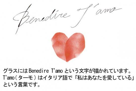 BENEDIRE ベネディーレ - ペアフリーグラス(1セット)G094-T2523