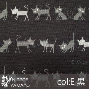 <img class='new_mark_img1' src='https://img.shop-pro.jp/img/new/icons57.gif' style='border:none;display:inline;margin:0px;padding:0px;width:auto;' />〜cocoland〜ココランドオックスプリントco10002【#1 黒猫たち】1-E  生地巾:110cm