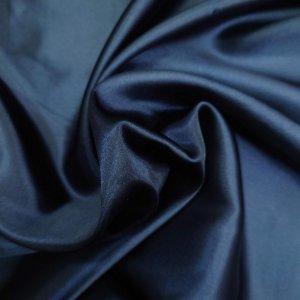 7068 ポリエステルサテン 120cm巾 col,160(ネイビー)