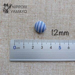 クルミボタン 平 12mm