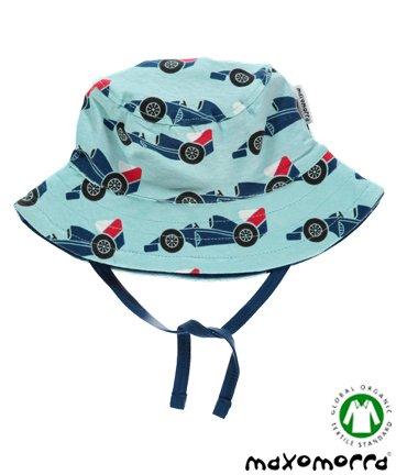 セール 北欧 ベビー用品 サンハット/帽子 Racer Car 6-12か月/1-2歳 Maxomorra マクソモーラ