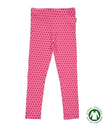 【MONO】北欧 ベビー服 子供服 レギンス Dots ドット ピンク 68/80/92 Maxomorra マクソモーラ