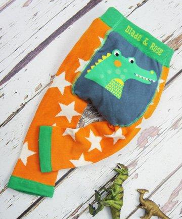 ベビー&トドラー レギンス Crocodile ワニ 6-12ヵ月/1-2歳|Blade&Rose ブレイドアンドローズ
