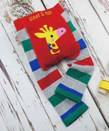 ベビー&トドラー レギンス Giraffe キリン 6-12ヵ月/1-2歳|Blade&Rose ブレイドアンドローズ