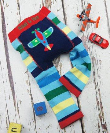 ベビー&トドラー レギンス Plane 飛行機 6-12ヵ月/1-2歳|Blade&Rose ブレイドアンドローズ